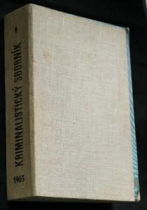 náhled knihy - Kriminalistický sborník 1.-12. číslo
