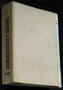 náhled knihy - Kriminalistický sborník 1.-12. číslo (chybí č. 12.)