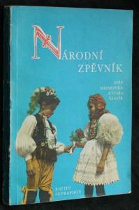 náhled knihy - Národní zpěvník : zpěv s doprovodem kytary, harmoniky nebo klavíru