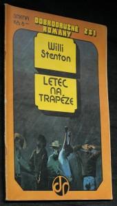 náhled knihy - Letec na trapéze