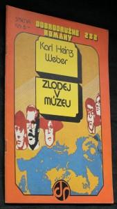 náhled knihy - Zlodej v múzeu
