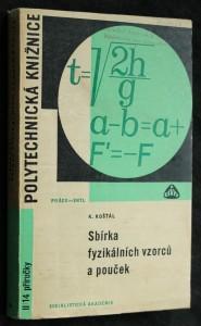 Sbírka fyzikálních vzorců a pouček