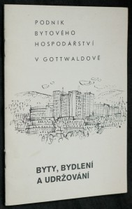 náhled knihy - Byty, bydlení a udržování