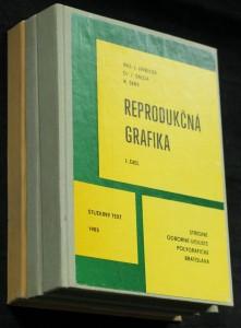 náhled knihy - Reprodukčná grafika 3 svazky
