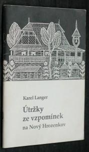 náhled knihy - Útržky ze vzpomínek na Nový Hrozenkov