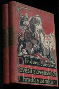 náhled knihy - Pověsti slovenských hradů a zámků 2 svazky