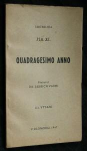 náhled knihy - Encyklika Pia XI. Quadragesimo anno
