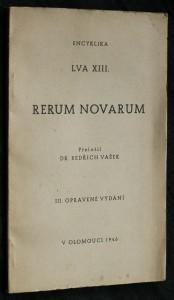 náhled knihy - Encyklika Lva XIII. Rerum novarum