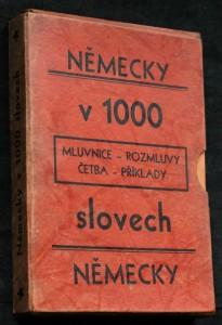 náhled knihy - Německy v 1000 slovech 1.-12.sešit