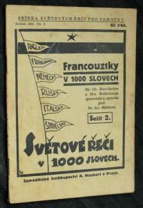 náhled knihy - Francouzsky v 1000 slovech, 2. sešit