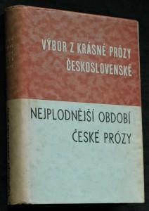 náhled knihy - Výbor z krásné prózy československé. Česká próza 2
