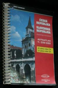 náhled knihy - Autoatlas. Česká republika 1 : 200 000