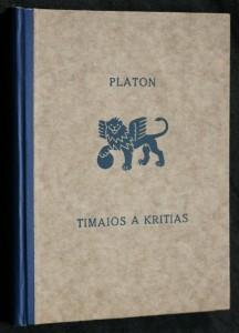 náhled knihy - Timaios a Kritas