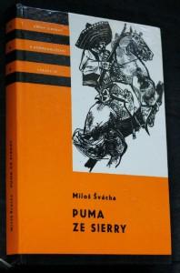 náhled knihy - Puma ze Sierry : vyprávění o dobrodružstvích Pancha Villy