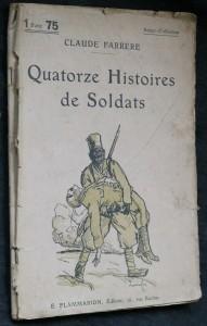 náhled knihy - Quatorze histoires de soldats