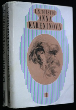 náhled knihy - Anna Kareninová 1.-2.