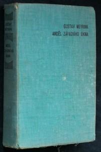 náhled knihy - Anděl západního okna : román