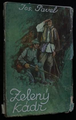 náhled knihy - Zelený kádr : román z války