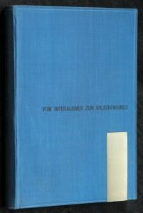 náhled knihy - Vom imperialismus zum bolschewismus
