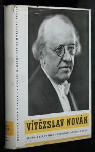 náhled knihy - Vítězslav Novák : studie a vzpomínky