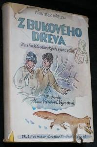 náhled knihy - Z bukového dřeva : kniha klukovských výprav
