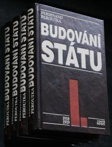 náhled knihy - Budování státu 1918-1922. 4 svazky