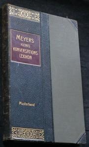 náhled knihy - Kleines Konversations-Lexikon