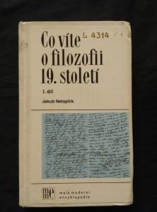náhled knihy - Co víte o filozofii 19. století 1 (Ocpl, 296 s., raz.)