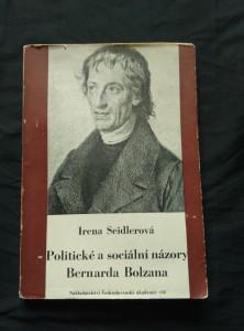 náhled knihy - Politické a sociální názory Bernarda Bolzana