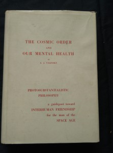 náhled knihy - The Cosmic Order and our Mental Health (protosubstantial philosophy - A4 472 s)