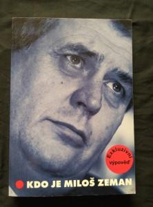 náhled knihy - Kdo je MilošZeman