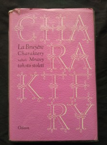 náhled knihy - Charaktery (Ocpl, 348 s.)