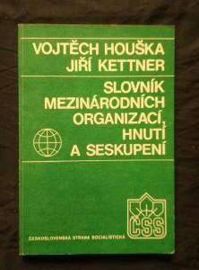 náhled knihy - Slovník mezinárodních organizací, hnutí a seskupení