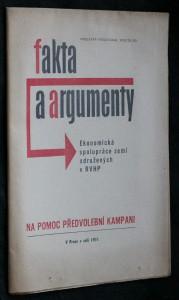 náhled knihy - Fakta a argumenty. Ekonomická spolupráce zemí sdružených v RVHP