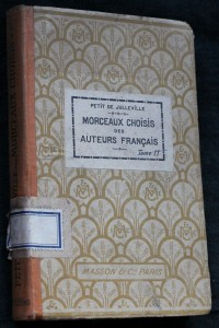 náhled knihy - Morceaux choisis des auteurs francais poétes et prosateurs avec notes at notices