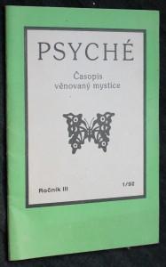 náhled knihy - Psyché. Časopis věnovaný mystice, ročník III, č. 1