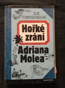 Hořké zrání Adriana Molea (pv, 184 s., ob a  il. V. Kabát)