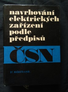 náhled knihy - Navrhování elektrických zařízení podle předpisů (lam, 608 s.)