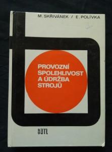 náhled knihy - Provozní spolehlivost a údržba strojů (lam, 252 s.,47 obr, 74 tab, 3 příl.)