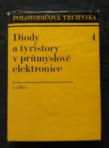 náhled knihy - Diody a tyristory v průmyslové elektrotechnice (Ocpl, 356 s., 260 obr., 27 tab, příl.)