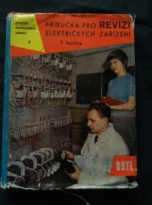 náhled knihy - Příručka pro revizi elektrických zařízení (Ocpl, 272 s., 62 obr., 34 tab.)