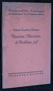 náhled knihy - Racisme, Marxisme, le problem juif