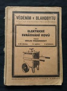náhled knihy - Elektrické svařování kovů (Obr, 75 s., 23n obr, příl.)