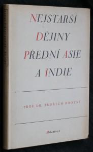 náhled knihy - Nejstarší dějiny Přední Asie a Indie