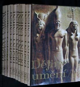 náhled knihy - Dějiny umění 10 svazků