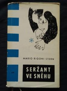 náhled knihy - Seržant ve sněhu (Ocpl)