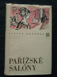 náhled knihy - Pařížské salóny