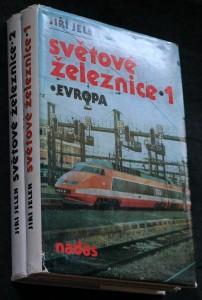 náhled knihy - Světové železnice. díl 1, Evropa díl 2. Asie, Afrika, Austrálie, Oceánie