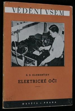 náhled knihy - Elektrické oči