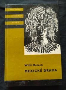 náhled knihy - Mexické drama - KOD 135 (lam, 320 s., il. J. Duchoň)